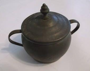 Pewter Sugar Bowl