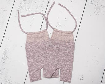 Short jumpsuit or romper with lace,