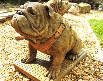 Bulldog Statue | eBay