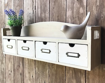 pretty revisited and patina wall shelf