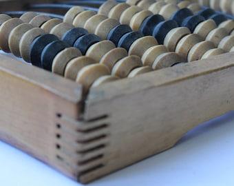 Soviet Abacus, Abacus USSR, Vintage abacus, Soviet wooden abacus