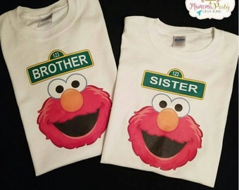 Elmo inspired Tshirts