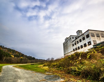 The Sun Sets on the Grain Mill - Abandoned Vermont - urban exploration,  abandoned, rural, urbex, grain mill, factory, Northeast Kingdom