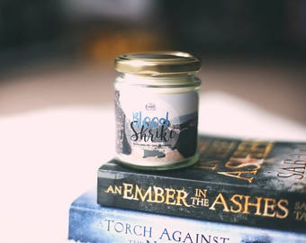 Blood Shrike {An Ember in the Ashes series by Sabaa Tahir} Candle