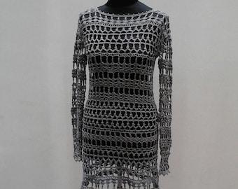 Crochet dress Lace dress Crochet clothes Crocheted clothes Crocheted dress Crocheted wear
