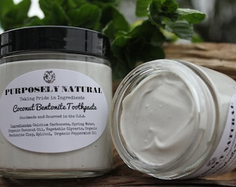 Coconut Bentonite Toothpaste