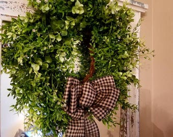 Best seller, Spring wreath, farmhouse, summer wreath, Mothers day wreath, boxwood Wreath, Country wreath, top selling item, Easter wreath