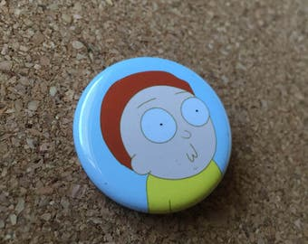 Rick and Morty, Morty Surprised Face Button
