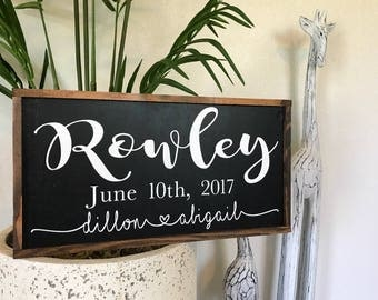 Family sign|family name sign|Custom name sign|wedding gift|custom wedding sign|custom wedding gift|home decor|rustic home decor