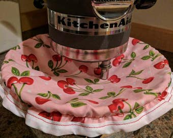 Cherry kitchen aid bowl cover