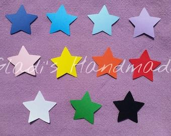 cardboard star tags 100