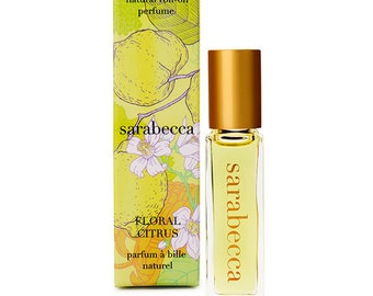 Sarabecca Floral Citrus Natural Perfume Roll-On 7.5 ml