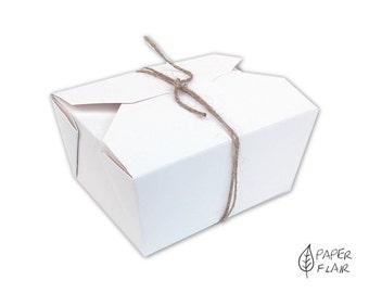 10 boxes gift boxes Asiabox white (PG-2)