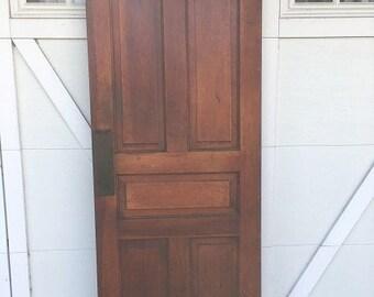 Vintage passage door
