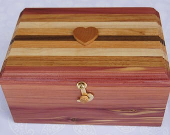 Treasure chest with 7 secret compartments each containing a surprise gift.
