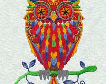 Multicolored Owl 25