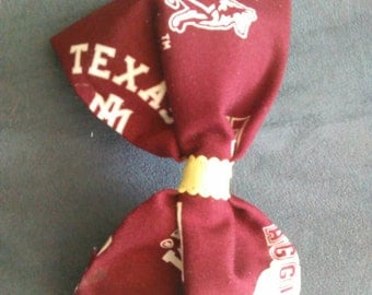 Aggies Hair bow