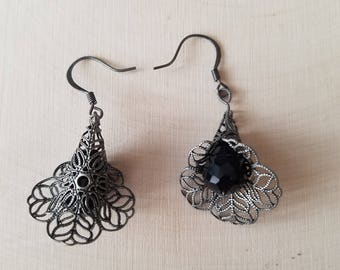 Filigree Flower Earrings