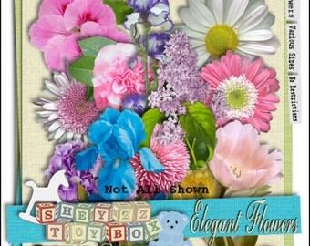 Elegant Flowers Volume I by sheyzz toybox