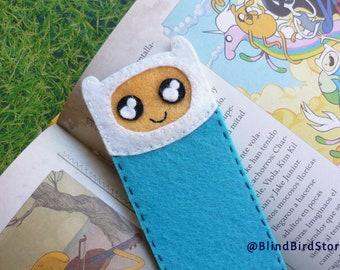 Bookmark adventure time Finn ~ marker felt kawaii ~ book