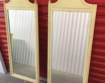 2 Henry Link Bali Hai Dresser Mirrors