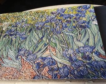 UNMISTAKABLE 3D Replica of Vincent van Gogh's Irises, check the description for details