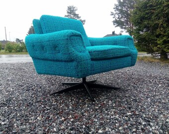 Vintage scandinavian mid century armchair