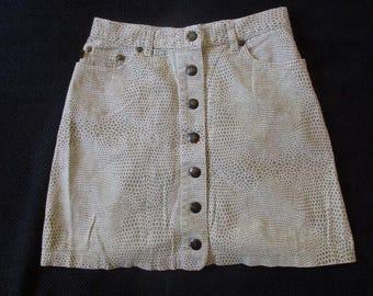 Skirt JUST CAVALLI Beige size 34 to-77%
