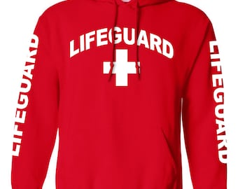 Lifeguard Red Hoodie