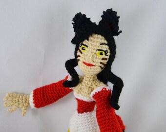 Fantasy artist doll