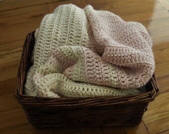 Crochet blanket Striped blanket Crochet afghan Afghan blanket Hand crochet blanket striped afghan