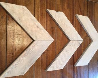 Chevron Arrows - Reclaimed Wood