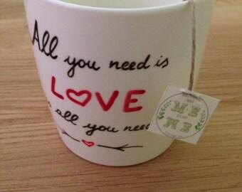 Hand-painted MUG CUPS