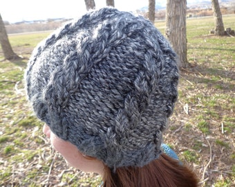 Super Bulky Cabled Hat Pattern