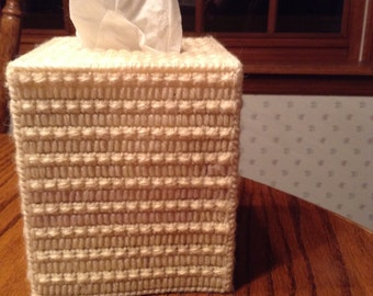 Everyday tissue box cover
