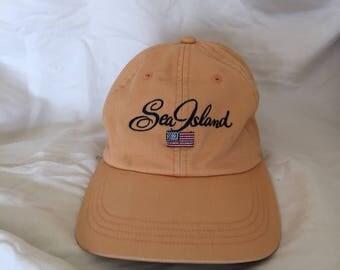 Vintage Sea Island Georgia low profile dad hat