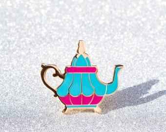 Teapot Enamel Pin