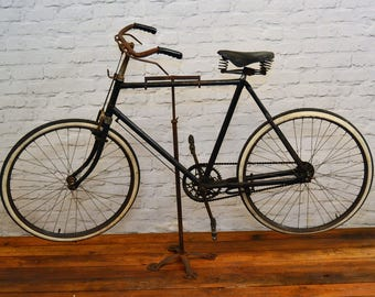1950s mens Hercules vintage city bicycle cycle road antique retro industrial interior design