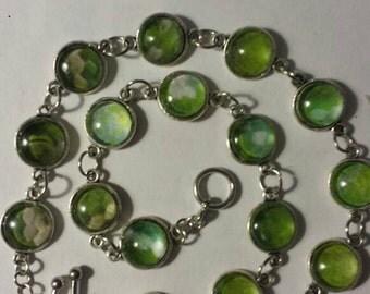 Green tree python bracelet