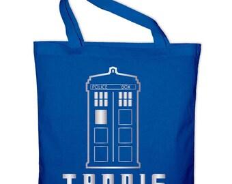 TARDIS tote bag, canvas bag