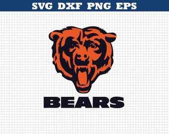 Chicago bears,Football Svg files,Chicago Svg,Bears Svg files,Chicago bears Png,Football Svg Cricut,Silhouette svg,Bears sports emblem