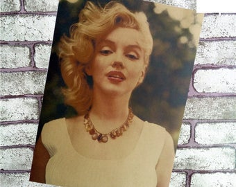 Actress damous Wall Decoration for cafe restaurant decoration wall art poster vintage high quality