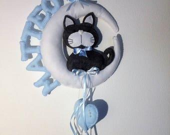 stitchable cat on Moon