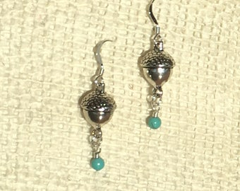 Adorable Acorn Earrings