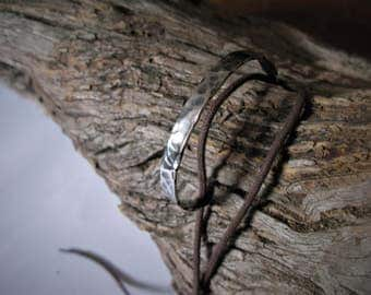 Forged stainless steel bracelet