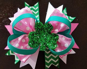"""5"""" St.Patrick's Day Bow"""