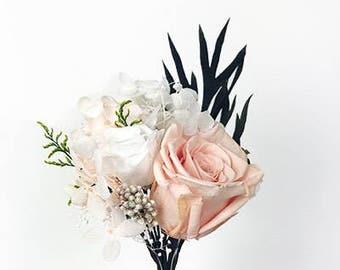 Preserved Peach Rose Bloom