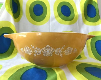 Vintage Pyrex Butterfly Gold Cinderella Mixing Bowl #444
