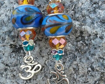 Color Splash Ohm Earrings