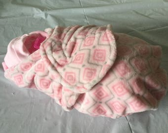 Diaper Baby Cake Swaddled Diaper Baby Pink Baby Girl